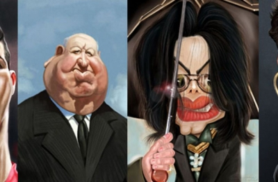 Los famosos en caricatura famosos express for Espectaculos chismes famosos