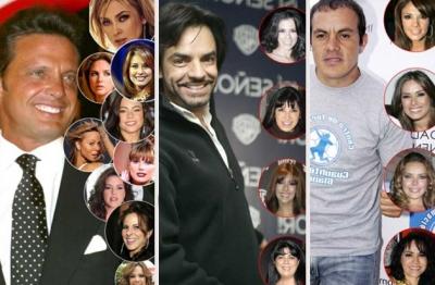 Los famosos m s novieros famosos express for Los ultimos chismes del espectaculo